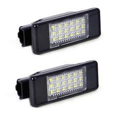 2x Kennzeichenleuchten Nummernschild 18 LED 6340 G9 6340 A5 für Peugeot 207 308