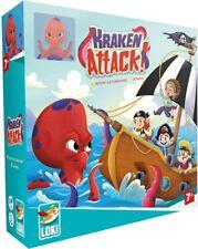 Kraken Attack! Pirate Themed Board Game Iello & Loki IEL 51687 Family Kids Co-Op