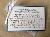 Cheap Fun Wedding day reception thank you gift for Son of bride groom gift him