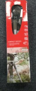 Manfrotto Compact MKC3-H02 Advanced Aluminium Tripod W/ Photo Movie Head Kit New