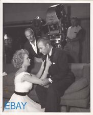 Roy Rowland directs Anne Francis George Raft VINTAGE Photo Rogue Cop