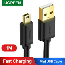 Ugreen 3ft/1M Mini USB Cable Data Charging Cord For GoPro Hero 3+ MP3 MP4 Player