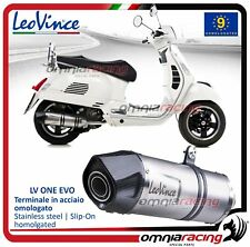 Leovince LV One EVO Scarico completo inox Vespa GTS 300 Supersport 2010>2015
