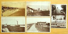 5 Postcards CANVEY ISLAND Essex England UK Lobster Smack CANVEY-ON-SEA 1920's