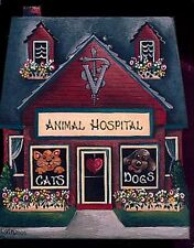 Brandywine Collectible Houses & Shops: ANIMAL HOSPITAL Vet Veterinarian Dog Cat