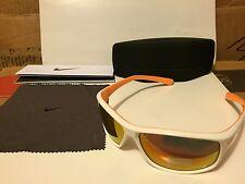NEW Nike Adrenaline Sunglasses White laser orange / Grey orange flash EV0757-184
