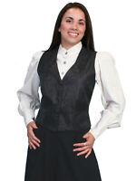 Scully Rangewear Women's Polyester Paisley Lapel Vest RW546