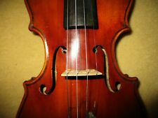 Rare Fine Old Antique 1890s Vintage 1/2 Size Italian Violin-Case-Free Shipping!