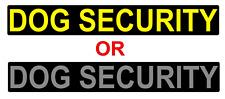 DOG SECURITY MAGNET MAGNETIC K9 SITE SECURITY PATROL Handler  620mm x 1