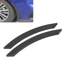 2x Carbon Fiber Car Fender Flares Arch Wheel Eyebrow Sticker Scratch Resistant