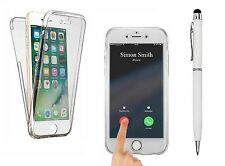 iPhone 6 6S SHOCKPROOF Full Body 360 Fitted Protective Clear Case Cover. Bundle