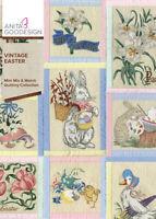 Vintage Easter Anita Goodesign Embroidery Machine Design CD NEW