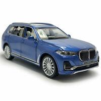 BMW X7 2019 SUV Off-road 1:32 Die Cast Modellauto Spielzeug Model Sammlung Blau
