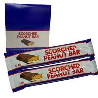 Scorched Peanut Bar x 30 Bars 45g Zombie Chews Assorted Bulk Lollies Favours