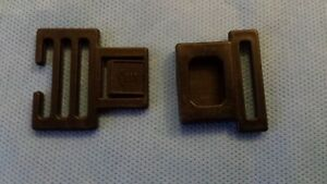 Phil & Teds E3 Pushchair Harness Clips - Male & Female parts - buggy spares