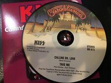 RARE CD Single Kiss - Calling Dr. Love / Take Me   CASABLANCA NM