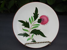 """Stangl Thistle 6"""" Dessert Plate - Hand Painted - Made in NJ - 1951-1978 Vintage"""