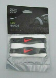 Nike Dri-Fit Football Bicep Bands Charcoal/Hot Lava Men's Women's