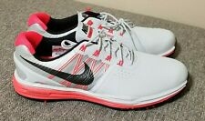 Nike Lunar Control 3 Golf Shoes Platinum/Crimson/Black Size 12 New, 704665-003
