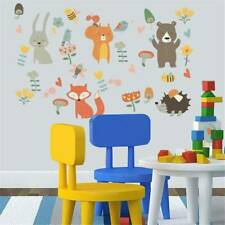 Fun Removable Zoo Animals Wall Sticker For Kids Baby Nursery School Room Decor
