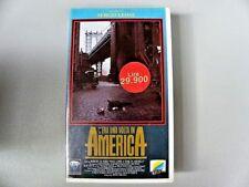 """VHS VIDEOCASSETTA """" C'ERA UNA VOLTA IN AMERICA """" UN FILM DI SERGIO LEONE"""