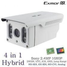 Long Range HD 2.4MP Sony Hybrid 1080P Bullet Matrix Camera HD-SDI, EX-SDI 395FT