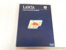 CARTELLA STAMPA 1993 ORIGINALE LANCIA DELTA HF INTEGRALE EVOLUZIONE IN FRANCESE