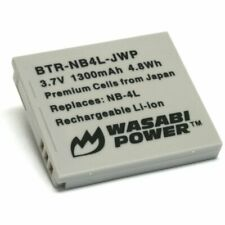 Wasabi Power Battery for Canon NB-4L