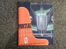 1938 PONTIAC SALES  BROCHURE  RARE '' RHD AUSTRALIAN VERSION''