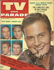 MUSIC LEGEND PAT BOONE SIGNED 1959 MAGAZINE AIN'T THAT A SHAME MOODY RIVER SHOW