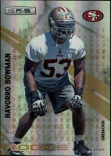 2010 Rookies and Stars Longevity Parallel Gold Card #226 NaVorro Bowman /49