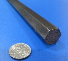 4140/4142 Carbon Steel Hex Rod 15 mm Hex  x 3 Foot Length