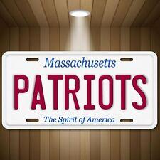 Patriots AFC NFL New England Massachusetts Football  Vanity License Plate Tag