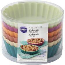 2105-5587 - Wilton Silicone Mini Tart & Pie Molds, 6 Count