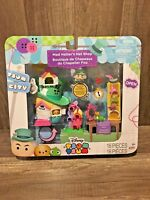 New Disney Tsum Tsum City Mad Hatter's Hat Shop Alice Wonderland Lady Pascal