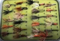 Kingfisher Tenkara Fly Assortment 24 PC's Smaller Sized Flies    ITEM NP-0150