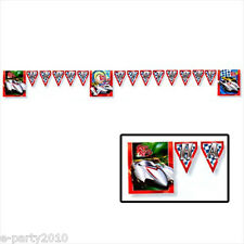 SPEED RACER HAPPY BIRTHDAY BANNER ~ Party Supplies Hanging Decorations Room