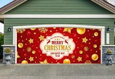 Christmas Double Garage Door Cover Full Color Mural OUTDOOR DECOR GD213