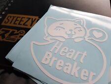 Jdm Cat Windshield Windscreen Laptop Sticker Decal vinyl sticker