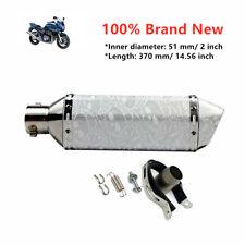 1x Motorcycle Dirt Bike Scooter ATV Exhaust Muffler Tail Pipe Machinist 38-51mm