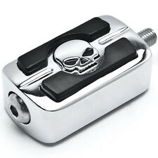 Shift Pedal Skull Chrome For 1987-2015 Harley Davidson Super Glide / Wide Glide