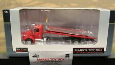 SPECCAST #34592 HEIL RED IH 8600 SEMI CAB ROLL BACK WRECKER TOW TRUCK 1:64/