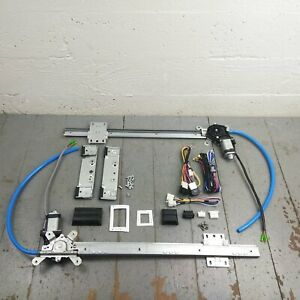 1955-69 Ford fairlane Power Window Kit cut-to-fit bosch motors w/switches