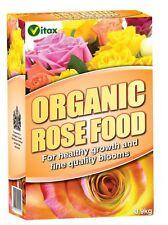 Organic Rose Food Plant Fertiliser Feed Food Natural Nutrients Bloom 900g