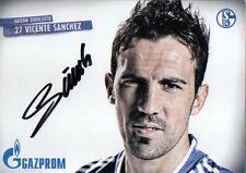 Autogramm - Vicente Sanchez (FC Schalke 04) - 2009/2010