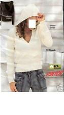 Markenlose S Damen-Kapuzenpullover & -Sweats mit V-Ausschnitt