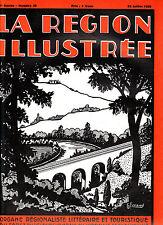 La région illustrée N°39 du 20 juillet 1930 Saint-Nectaire  Peyrebeille Le Puy