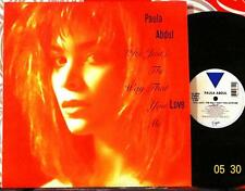 "PAULA ABDUL // (It's Just) The Way You Love Me / ORIGINAL 1988 US 12"" / MINT-!"