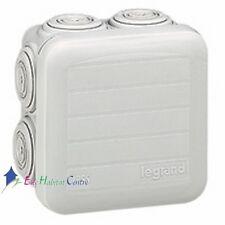 Lot de 5 boites de dérivation étanche Plexo gris 65X65X40 Legrand 92005
