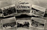 Göhren Insel Rügen alte DDR Mehrbildkarte 1960 gelaufen Strandpartien Möwen Meer